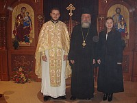 Fr. Dragan installed in Youngstown, Oh